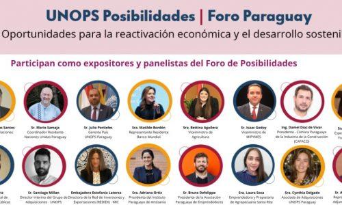 Foro Paraguay: Reactivación económica y desarrollo sostenible
