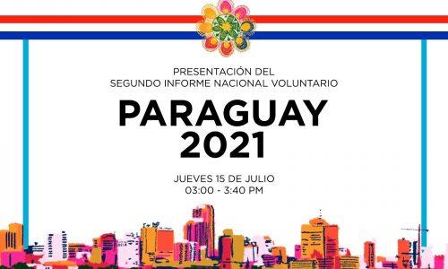 Presentación Segundo Informe Nacional Voluntario del Paraguay